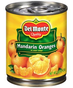 Del Monte® Mandarin Oranges in Light Syrup 8.25 oz.
