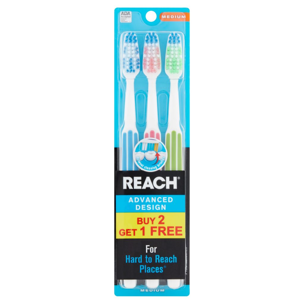 Reach Full Head Medium Toothbrush