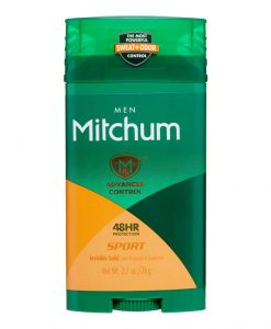Mitchum Men Advanced Control Invisible Solid Anti-Perspirant & Deodorant, Sport 2.70 oz