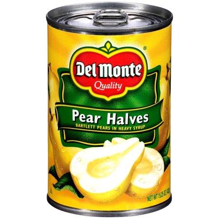 Del Monte Pear Halves Heavy Syrup, 15.25 Oz