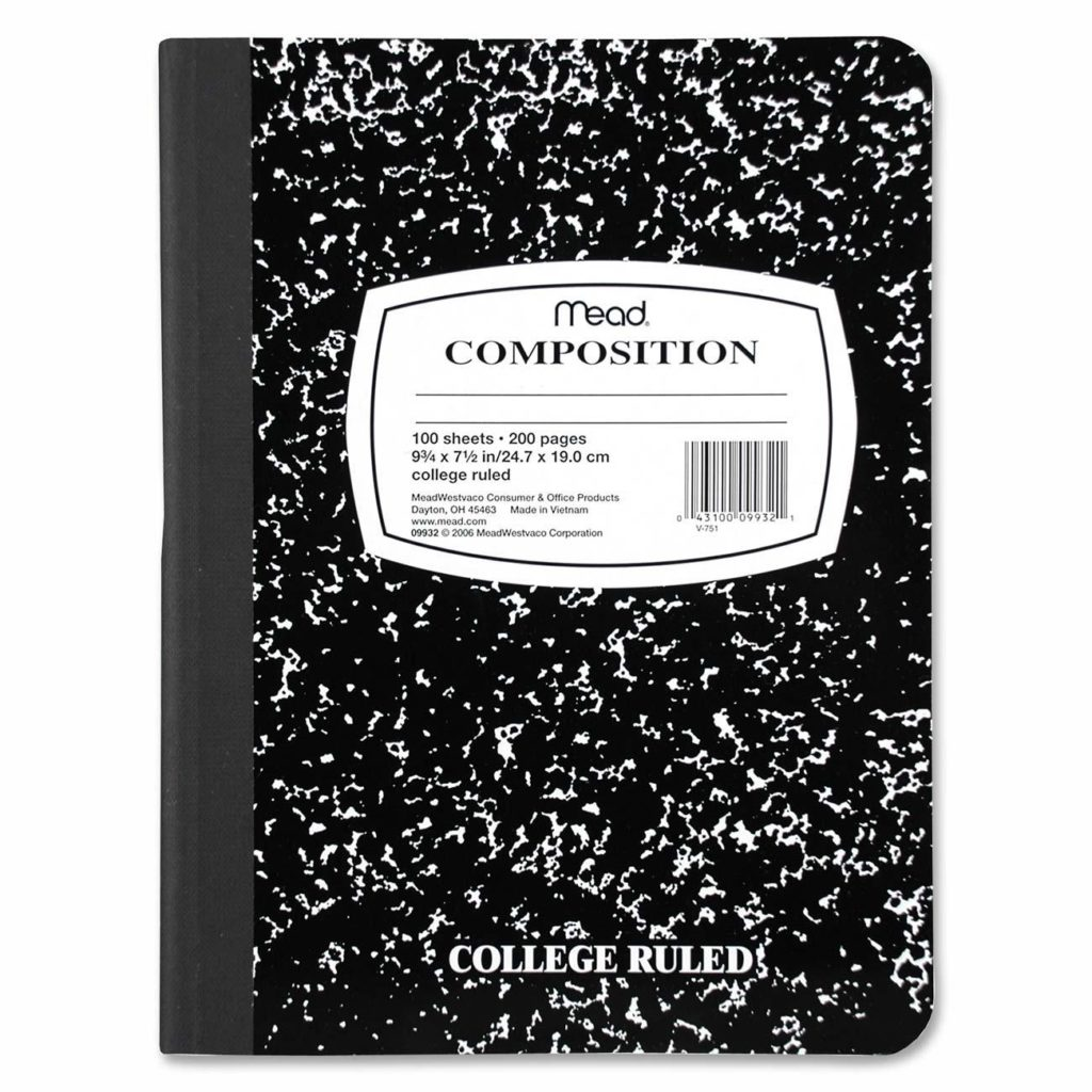 Mead® Composition Notebook
